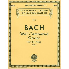 bach / well  tempered clavier - book 1